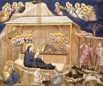 Natividad. Giotto di Bondone. Asis